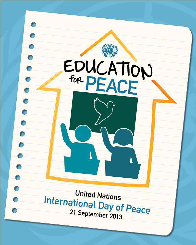 EDUCATION FOR PEACE: CELEBRATE ON SEPTEMBER 21 | SNDatUN's Blog