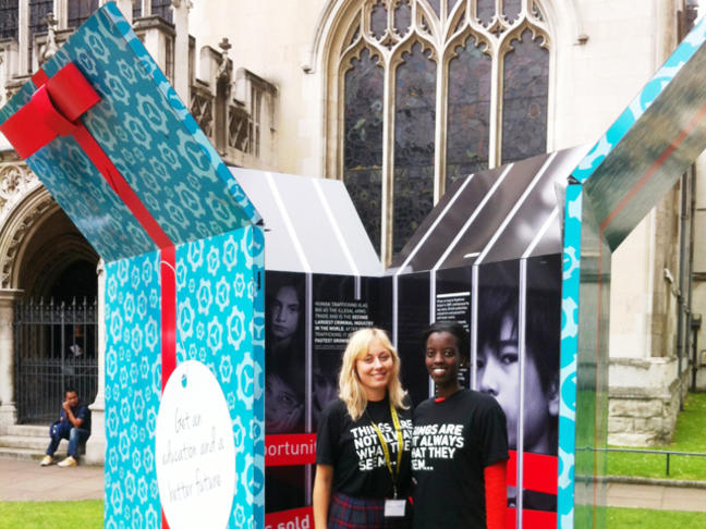 ANTI-TRAFFICKING EFFORTS: UN.GIFT BOX COMES TO NEW YORK CITY ...