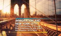 Immigration and NYC