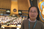 Sr. Nathanael Lee in UN   General Assembly Hall
